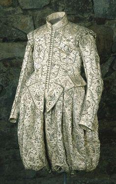 King Gustav II Adolf of Sweden's coronation gown, 1617