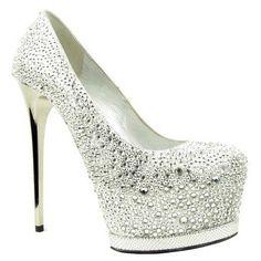 Princess Shoes #shoes #heels #shoetalk