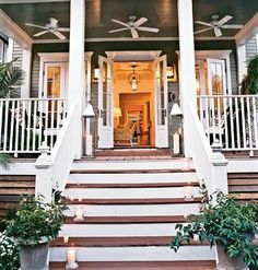 The Newlywed Diaries: Pretty New Orleans Cottage