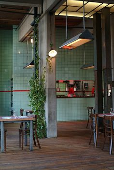 interior design | decoration | restaurant design | Hungaria Food Mood | Leuven, Belgium