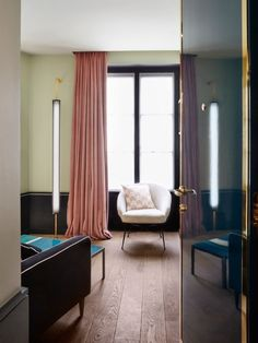 """Inside Le Roch Hotel and Spa, Paris: How did you reference both historical and modern French design?""""Le Roch Hotel conveys my own…"""