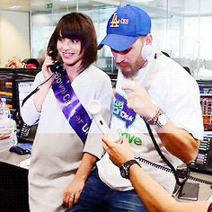 Tom Hardy and  Charlotte Riley at BGC Charity Day - Sept. 2015
