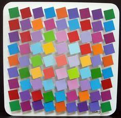 Stan Slutsky, 341 Square Color Palette available at #gallartcom