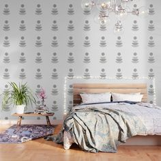Cats And Coffee Peel And Stick Wallpaper by Sydney Koffler - X Bird Wallpaper, Peel And Stick Wallpaper, Wallpaper Patterns, Simpsons Art, Three Floor, Buy A Cat, Antique Prints, Fabric Panels, Repeating Patterns