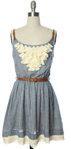 rustic brides maid dresses country dress Brides maid dress with some cowboy boots, i think yes Cute Country Dresses, Vintage Style Dresses, Country Outfits, Boho Outfits, Pretty Outfits, Cute Dresses, Summer Dresses, Maid Dress, Dress Up