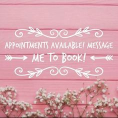Appointments as early as or as late as # Brow Quotes, Hairstylist Quotes, Salon Quotes, Appointments Available, Business Hairstyles, Nail Shop, Salon Design, Beauty Room, Beauty Quotes