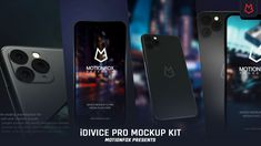 Buy iDevice 11 Pro Mockup Kit - App Promo by MotionFox on VideoHive. This is Brand New Apple iPhone 11 Pro Device Mockupkit. This is creating inspirational, beautiful and professional A. Photoshop Plugins, Free Photoshop, Kit, Iphone 11, Apple Iphone, Presentation, Free Graphics, Motion Graphics, Creative Video