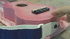 Easy DIY ukulele strap video