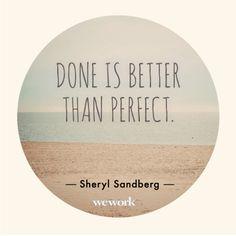 WeWork Inspirational Quote // Sheryl Sandberg