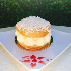 The Tropezienne is a delicious treat! with a sugared brioche and vanilla bean cream!!