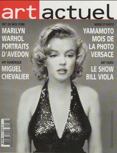 """Mag """"art actuel"""" (France) 2002 - Marilyn La MM que j'Aime * * * Accueil"""