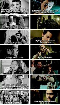 Stiles and Lydia vs Lydia and Jackson TEAM STYDIA