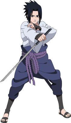 Sasuke Uchiha in Naruto Shippuden