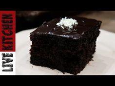 Αφράτη Σοκολατόπιτα!!(Χωρίς Μίξερ) - Chocolate Cake Recipe Live Kitchen - YouTube Chocolate Recipes, Chocolate Cake, Greek Recipes, Kitchen Living, Cupcake Cakes, Cupcakes, Cake Recipes, I Am Awesome, Deserts
