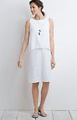 In the blue for mom - Pure Jill tiered linen dress from J.Jill