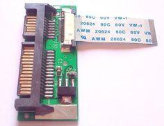 24pin 1.8 2.5 LIF SSD HDD to 22pin SATA adapter card HS12UHE/MK1639GSL/MK2239GSL