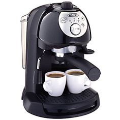 Delonghi Retro 15 Bar Pump Delonghi Espresso Cappuccino Maker - Black - BAR32 DeLonghi http://www.amazon.com/dp/B005V6SL9U/ref=cm_sw_r_pi_dp_YdaKvb1GMVR5D