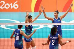 Estación Voleibol: RÍO 2016: BRASIL SE UBICA QUINTO TRAS PERDER CON CHINA EN CUARTOS DE FINAL DEL VOLEIBOL FEMENINO
