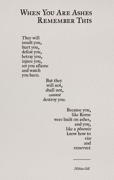 Nikita Gill poetry