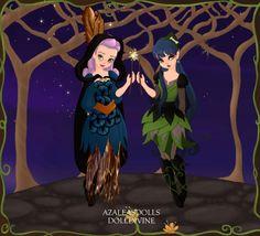 Created in Azalea's Dolls' Pixi Scene Maker: My Pottermore OCs - Nitor Nox (Slytherin), and Evangeline Phoenix (Ravenclaw) ♥