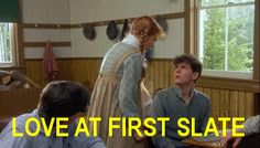 Gilbert Blythe and Anne Shirley.love at first slate. Anne Shirley, Anne Green, Anne Auf Green Gables, North And South, Gilbert Blythe, Anne With An E, Kindred Spirits, Movie Quotes, Good Movies