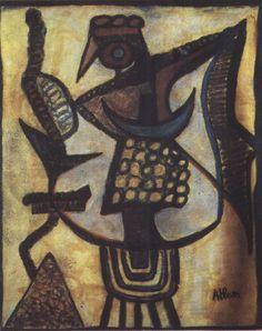 Warlike Baal, 1952- Jean-Michel Atlan