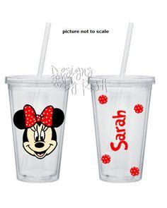 Minnie Mouse Tumbler