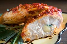 My Favorite Things: Simply Delicious Sage-Cheddar-Stuffed Chicken Breast
