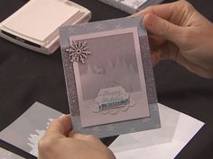 Sara Douglass Stage Presentation Convention 2015 #stampinup #InspireCreateShare | To You & Yours Too Stamp Set from upcoming Stampin' Up! Holiday Catalogue