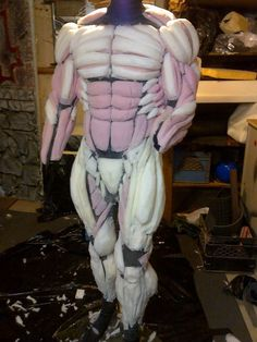 how to make muscle suit of foam - Hledat Googlem
