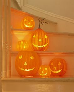 Papier-Mache Pumpkins - Martha Stewart Holiday & Seasonal Crafts