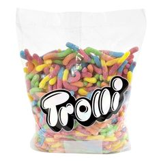 5 lb Trolli Gummy Candy, Chewy and Gummy Candy