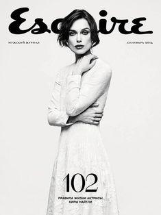 Esquire (Russia) #KieraKnightly stars new cover #Esquire Russian edition