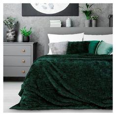 Forest Green Bedrooms, Emerald Green Bedrooms, Emerald Bedroom, Green And White Bedroom, Green Master Bedroom, Green Bedroom Decor, Green Home Decor, Gold Bedroom, Room Ideas Bedroom