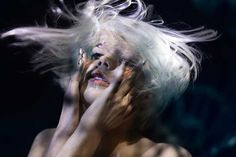 Underwater beauty story for Collection Magazine