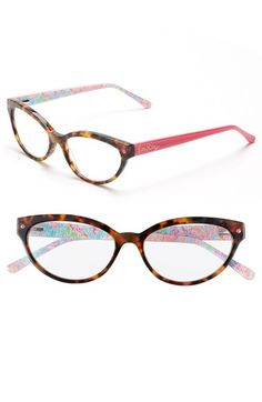 3cd1c84292 Lilly Pulitzer®  Sandpiper  52mm Reading Glasses available at  Nordstrom  Cool Glasses