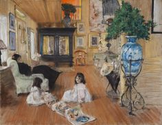 Hall at Shinnecock, 1892, William Merritt Chase Terra Foundation for American Art