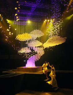 Licht Kunst Licht: An Inspiration in German Design Design Set, Stage Set Design, Set Design Theatre, Event Design, Tableaux Vivants, Decoration Evenementielle, Instalation Art, Scenic Design, Stage Lighting