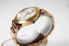 Chopard Imperiale Damen Armbanduhr Gold Zeiger in Goldweisses Zifferblatt https://www.ipfand.de/luxusuhren  #Chopard
