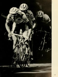 """Athena yearbook, 1992, pg. 45. """"All roads led to victory for Chris Huber during the Brick Criterium bicycle races.  Thirty-year-old Huber of the Coors Light Team finished first in the men's 60-kilometer Pro I and II race held Sept. 21."""" :: Ohio University Archives"""