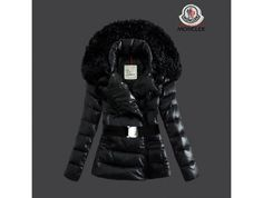 182870d0108e Cheap Moncler Down Coats Women Fur Collar Black Sale Tokyo Fashion, New  York Fashion,