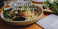 Add some spice to your #website with these #free restaurant #WordPress #plugins Asian Recipes, Healthy Recipes, Ethnic Recipes, Healthy Snacks, Food Blogs, Healthy Weight, Pasta Dishes, Slow Cooker Recipes, Healthy Eating