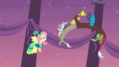 Image - Discord snaps at Fluttershy S5E7.png - My Little Pony ...
