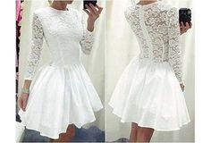 White Dresses Short prom Dresses Party Dresses Evening Dresses Lace
