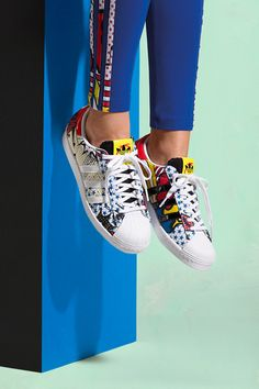 "Like so many in the fashion world, Ora is also obsessed with perennially cool and classic sneakers. ""I definitely have bought my fair share of Stan Smiths over the years,"" she said. ""Now, I have quite a few from my own line.""adidas Originals by Rita Ora, available here on March 1."