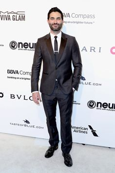 Tyler Hoechlin attends the 25th Annual Elton John AIDS Foundation's Academy Awards Viewing Party at The City of West Hollywood Park on February 26, 2017 in West Hollywood, California. Pinned by @lilyriverside