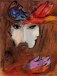 David and Bathsheba by Marc Chagall