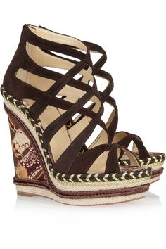 aa145652dcd Christian Louboutin Lace Up Sandals