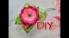 Цветок на любую основу за 10минут/Flor em qualquer base para 10minut .