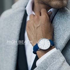 Featured watch model: Birline HIGH BEACH //149|203|$218. See more models at our LOOKBOOK http://ift.tt/1UVoy7L #birline #timepiece #harristweed____________________________________  #mensfashion #menswear #fashion #style #mensstyle #menstyle #dapper #ootd #streetstyle #suit #gentleman #menwithstyle #luxury #bespoke #swag #menwithclass #stylish #watch #watches #watchporn #rosegold #instawatch #watchoftheday #accessories